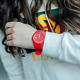 Skmei Жіночі годинники Skmei Rubber Red 9068R, фото 6