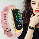 UWatch Жіночі годинники Smart Victory Band Pro Beige, фото 7