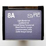 8A (светлый блондин пепельный) Тонирующая крем-краска для волос без аммиака Matrix Color Sync,90 ml, фото 2
