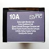 10A (очень-очень светлый блондин пепельный) Тонирующая крем-краска без аммиака Matrix Color Sync,90 ml, фото 2