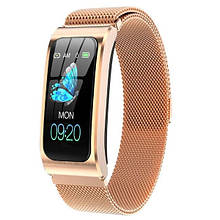 UWatch Смарт часы Smart Mioband PRO Gold
