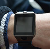 UWatch Дитячі годинник Smart DZ09 Black, фото 3