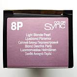8P (светлый блондин жемчужный) фиолетовый Тонирующая крем-краска для волос без аммиака Matrix Color Sync,90 ml, фото 2