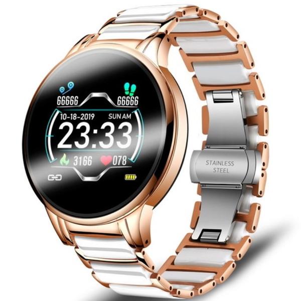 UWatch Смарт часы Smart Beauty Ceramic Gold