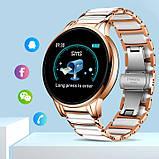 UWatch Смарт часы Smart Beauty Ceramic Gold, фото 3