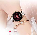 UWatch Смарт часы Smart Beauty Ceramic Gold, фото 8