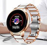 UWatch Смарт часы Smart Beauty Ceramic Gold, фото 10