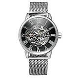 Forsining Чоловічі годинники Forsining Aston Silver, фото 4
