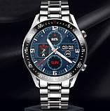 UWatch Смарт часы Smart Terminator PRO Silver, фото 3