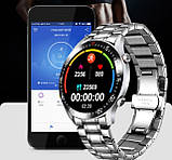 UWatch Смарт часы Smart Terminator PRO Silver, фото 5