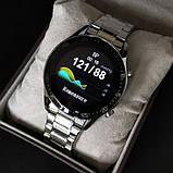 UWatch Смарт часы Smart Terminator PRO Silver, фото 6