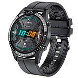 UWatch Смарт часы Smart Ambassador Black, фото 4