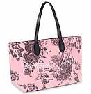 Городская Сумка Шоппер Victoria's Secret Floral Tote, Розовая с цветами, фото 7