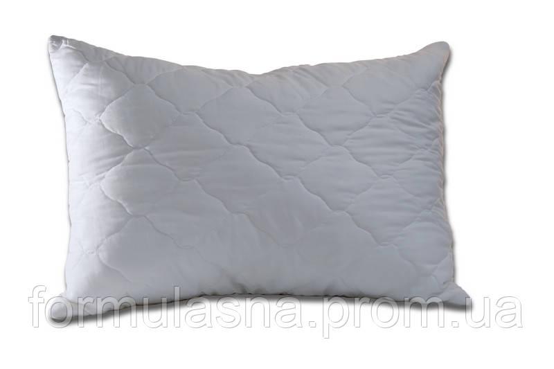 Подушка антиаллергенная 50х70 белая стеганная