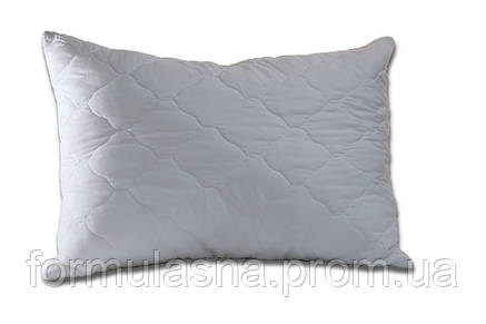 Подушка антиаллергенная 50х70 белая стеганная, фото 2