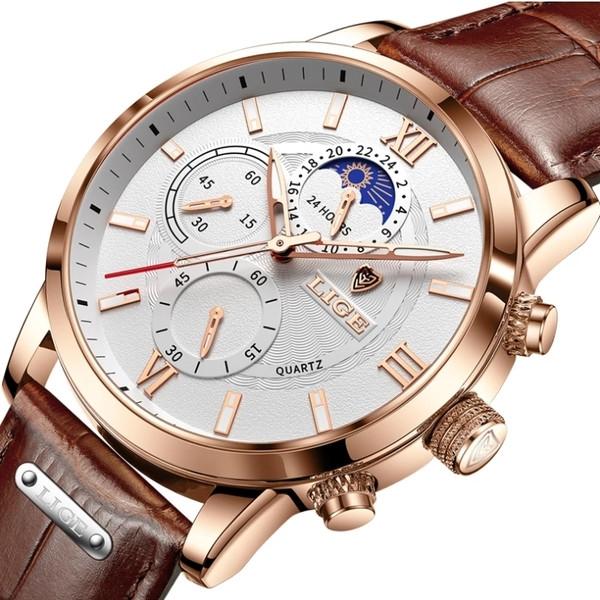 Lige Чоловічі годинники Lige Signature