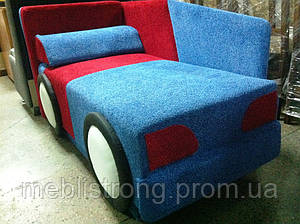Детский диван с нишей для ребенка Машина