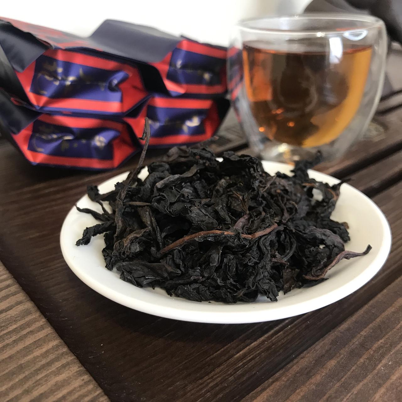Темний улун порційний Да Хун Пао сильного обжарювання (Уі Шань), 7 г
