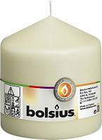 Свеча цилиндр Bolsius кремовая 10 см (100/100-011Б)