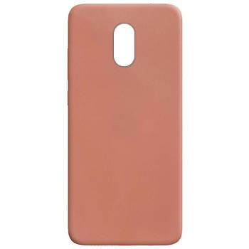 Силиконовый чехол Candy для Xiaomi Redmi Note 4X / Note 4 (SD) Rose Gold