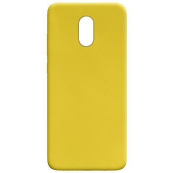 Силиконовый чехол Candy для Xiaomi Redmi Note 4X / Note 4 (SD) Желтый