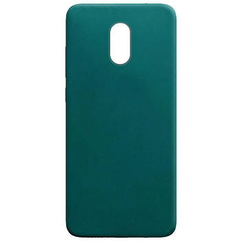 Силиконовый чехол Candy для Xiaomi Redmi Note 4X / Note 4 (SD) Зеленый / Forest green
