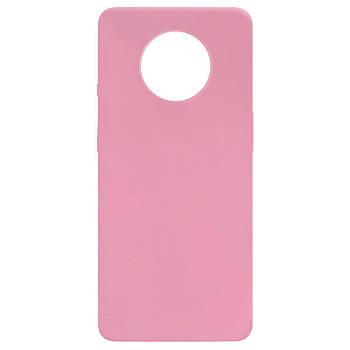 Силиконовый чехол Candy для OnePlus 7T Розовый