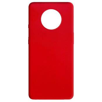 Силиконовый чехол Candy для OnePlus 7T Красный