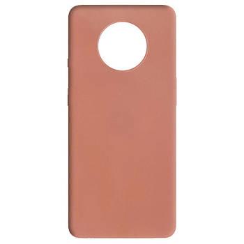 Силиконовый чехол Candy для OnePlus 7T Rose Gold