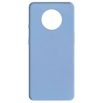 Силиконовый чехол Candy для OnePlus 7T Голубой / Lilac Blue