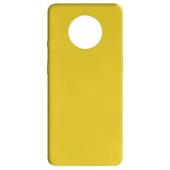 Силиконовый чехол Candy для OnePlus 7T Желтый