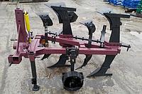 Двухкорпусный оборотный плуг ПНО 2-25 без предплужников, фото 1