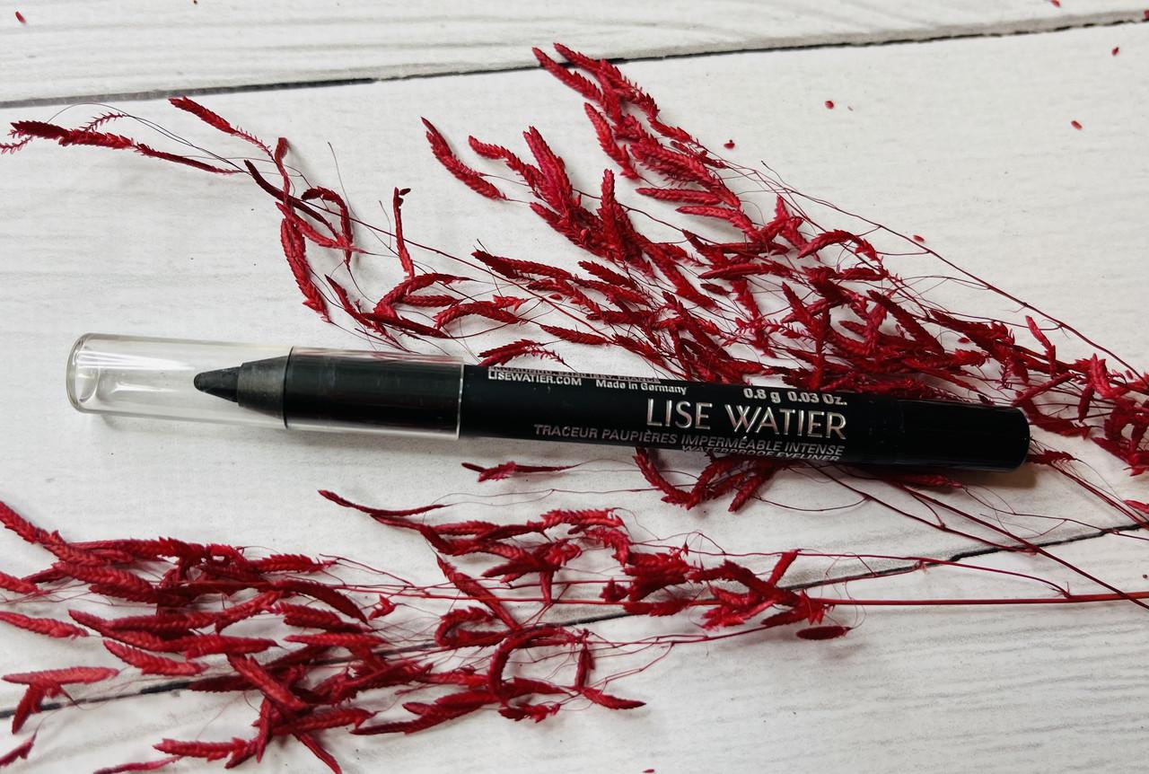 Водостойкий черный карандаш для глаз LISE WATIER Waterproof Eyeliner