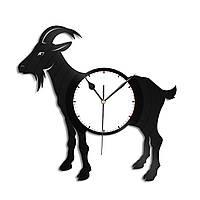 Настенные часы Козел, подарок любителю, 1341
