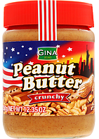 Арахісова паста Кранч Gina Peanut Butter 350 г