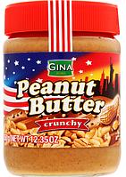 Арахисовая паста Кранч Gina Peanut Butter  350 г