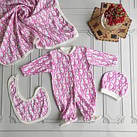 Dior, набор для новорожденного, 4 предмета
