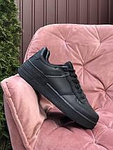 Кеди кросівки жіночі чорні осінь весна, фото 2