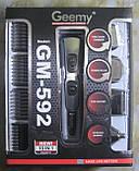 Набор для стрижки 10 в 1 Geemy GM-592, фото 3