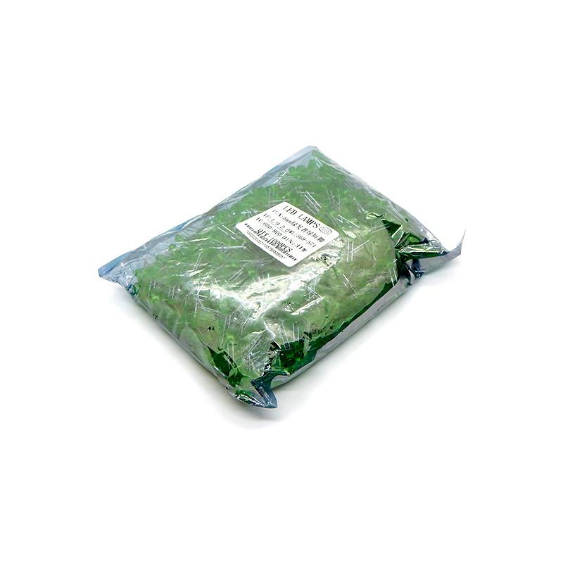 Led Светодиод 5мм. Зеленый (1000 шт.)