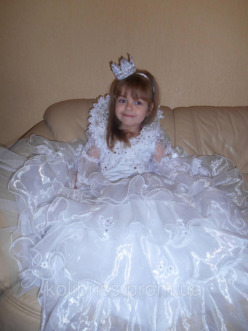 Карнавальный костюм Принцесса прокат Киев.Костюм принцессы ВИП прокат