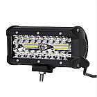 Фара LED прямоугольная 120W (40 диодов), фото 5