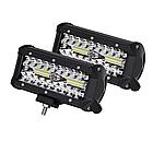 Фара LED прямоугольная 120W (40 диодов), фото 6