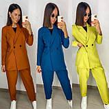 Стильный свободный женский костюм в стиле 6 цветов! 13-373-2, фото 8
