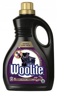 Woolite Dark Black Denim кращий засіб для прання деніму, темних і чорних речей з кератином, 1,8 л на 30 стир