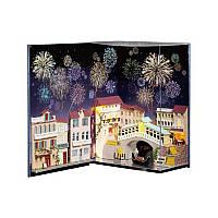 Кукольный дом конструктор в книге DIY Cute Room N-001 Венеция 3D (6682-22873)
