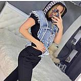 Жіночий костюм трикотажний (Туреччина); розмір С,М,Л,ХЛ (повномірні), фото 5