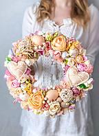 Пасхальный веночек на стол или двери «Моя весна»