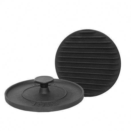 Притиск БІОЛ 11242 (чавун, круглий, 24см), фото 2