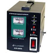 Стабилизатор напряжения LUXEON AVR-500 (черный)